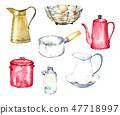 復古廚房用品 47718997