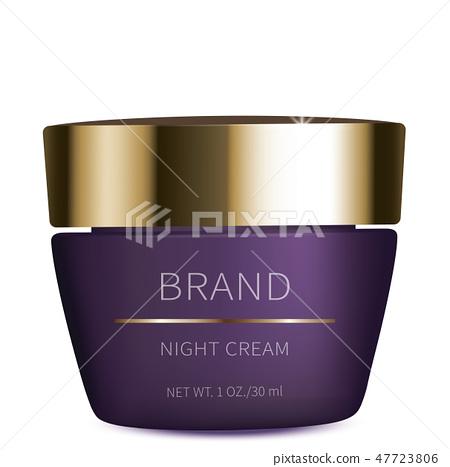 Night cosmetic gel for eyes skin care 47723806