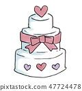 婚禮蛋糕 47724478