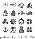 ship icon set 47726954