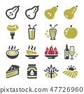 pear icon set 47726960
