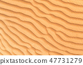 Detail of sand dune texture 47731279