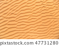 Detail of sand dune texture 47731280
