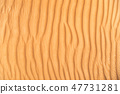 Detail of sand dune texture 47731281