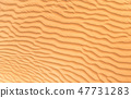 Detail of sand dune texture 47731283