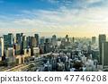 도시 풍경 오사카 47746208