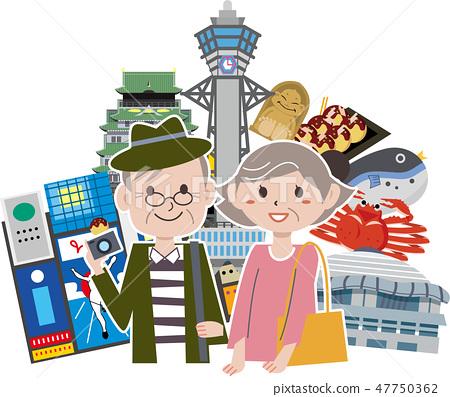 大阪旅遊觀光景點 47750362