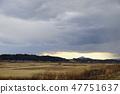 쓰쿠바 겨울 시골 풍경 47751637