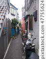 Harajuku Cat Street alley back 47755624
