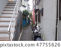 Harajuku Cat Street alley back 47755626