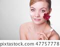 skincare, leaf, woman 47757778