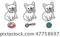 개, 강아지, 벡터 47758697