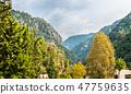 Mountains near the Jeita Grotto in Lebanon 47759635