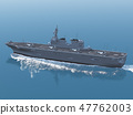 Helicopter carrier ☆ Hyuga type escort ship ☆ F35B 47762003