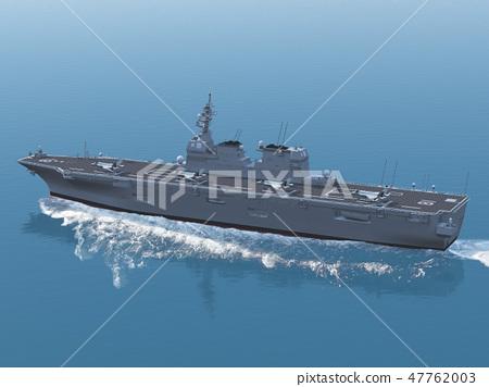 直升機載體☆Hyuga型護航船☆F35B 47762003