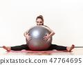 แข็งแรง,ลูกบอล,การออกกำลังกาย 47764695