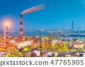 Factories in Yokkaichi, Japan 47765905