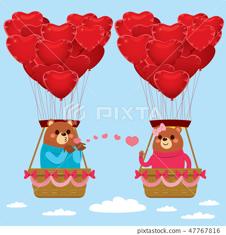 Bears Love Kisses Valentine 47767816