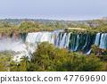 Iguazu falls view, Argentina 47769690