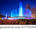 Plaza de Catalunya fountains 47770588