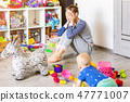 mother, toy, play 47771007