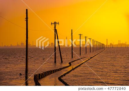 海岸 江川