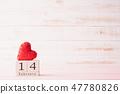 Valentines day background concept.  47780826