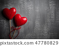 Valentines day and love concept.  47780829