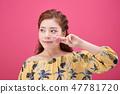 젊은여성, 여자, 스킨 케어,뷰티, 한국인 47781720