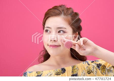 젊은여성, 여자, 스킨 케어,뷰티, 한국인 47781724