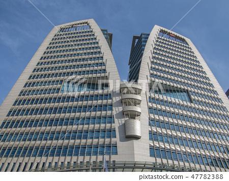 서울 명동 우체국과 하늘 47782388
