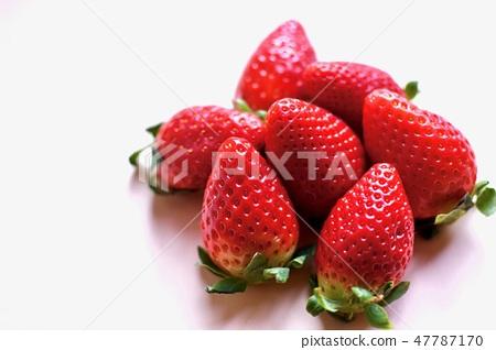 Fresh strawberries 47787170