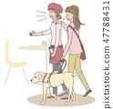 日本環球莊園協會監督材料盲人 47788431