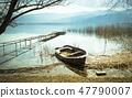 Old Boat on Lake 47790007