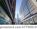 신바시 연무장 방면에서 보이는 덴츠 본사 빌딩 47790819