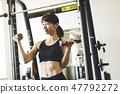 重量训练小姐 47792272