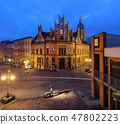 Chorzow in Poland. Historic post office 47802223