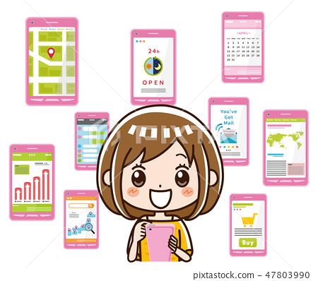 智能手機應用 47803990