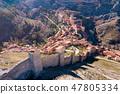 Aerial view of Albarracin 47805334