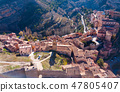 Aerial view of Albarracin 47805407