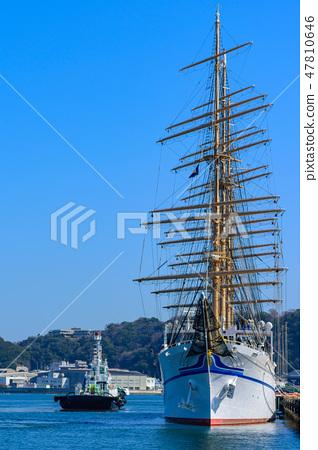Sailing ship Nippon Maru 47810646