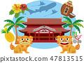 沖繩島 47813515
