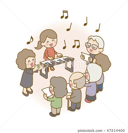 Senior Chorus Circle 47814400
