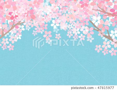 樱花日本纸纹理 47815977