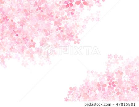 櫻花日本紙紋理 47815981