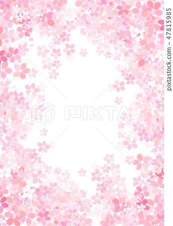 櫻花日本紙紋理 47815985