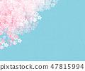 櫻花日本紙紋理 47815994