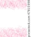 櫻花日本紙紋理 47815998