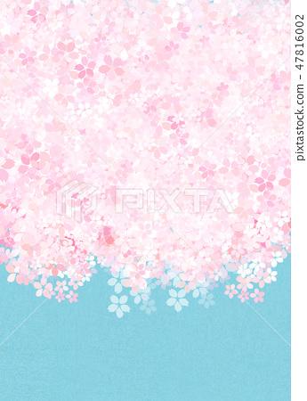 櫻花日本紙紋理 47816002