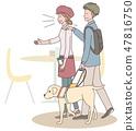 日本環球莊園協會監督材料盲人 47816750